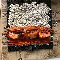 减脂吃❗关晓彤同款低卡无米寿司❗超饱腹❗的做法图解9