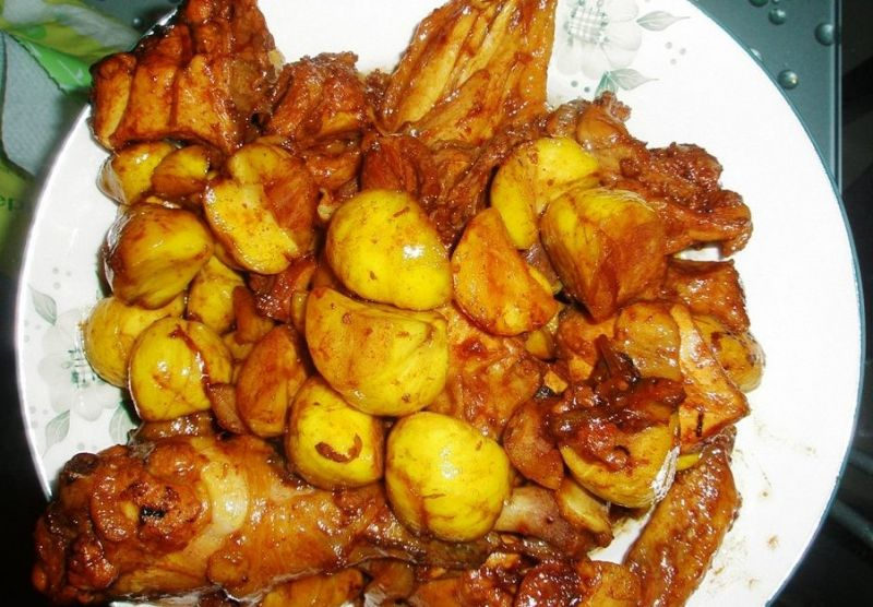板栗烧鸡的做法 板栗烧鸡怎么做好吃 ホ灵ホ分享的板栗烧...