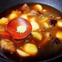 #就是红烧吃不腻!#土鸡土豆粉条一锅炖的做法图解12