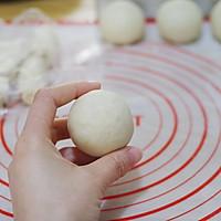 #精品菜谱挑战赛#不裂不爆不混酥,层层分明的经典豆沙蛋黄酥的做法图解32