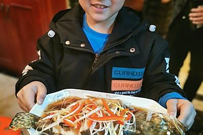 我的年夜菜--清蒸桂鱼