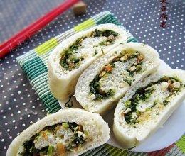 荠菜豆腐卷的做法