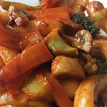 蔬菜版韩式辣年糕