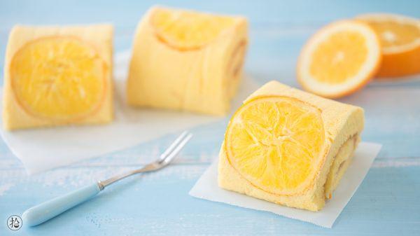 橙香蛋糕卷