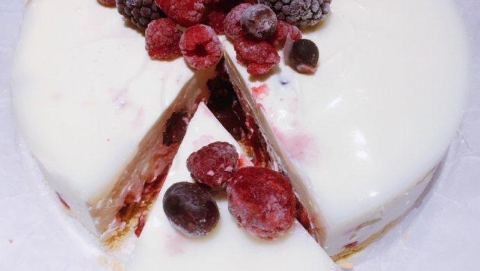 莓果芝士饭糕(免烤)