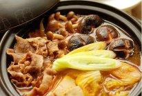 韩式鲜菌辣肥牛汤锅的做法