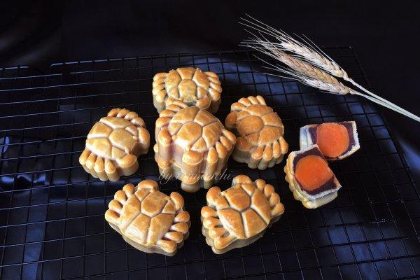 蟹蟹月饼的做法