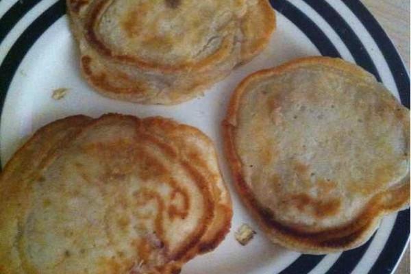 香蕉pancake的做法