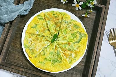 #母亲节,给妈妈做道菜#苦瓜鸡蛋饼
