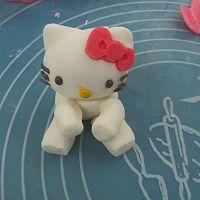 HOLLETKITY粉色双层翻糖蛋糕#九阳烘焙剧场#的做法图解34