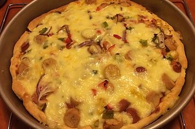 火腿腸披薩