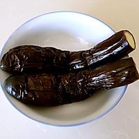 蒜泥手撕长茄#美极鲜味汁#的做法图解3