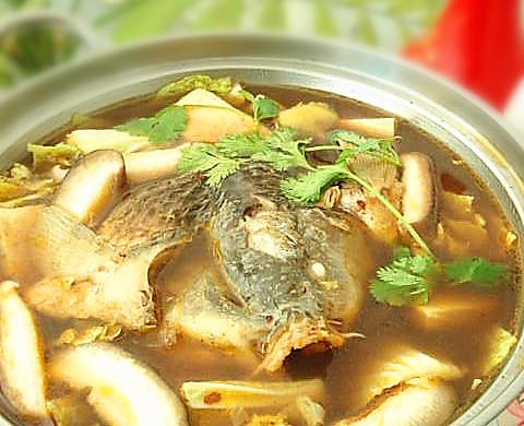 鱼头火锅——冬季暖身