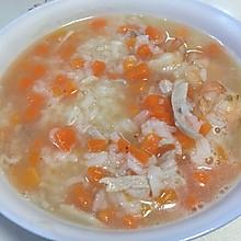 胡萝卜瘦肉粥