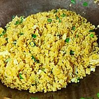 孩子爱吃的山西美食炒小米的做法图解9