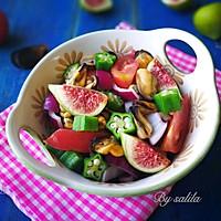 无花果贻贝沙拉#厨此之外,锦享美味#