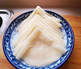 汤面春饼的做法