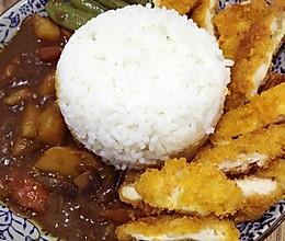 咖喱鸡排饭的做法