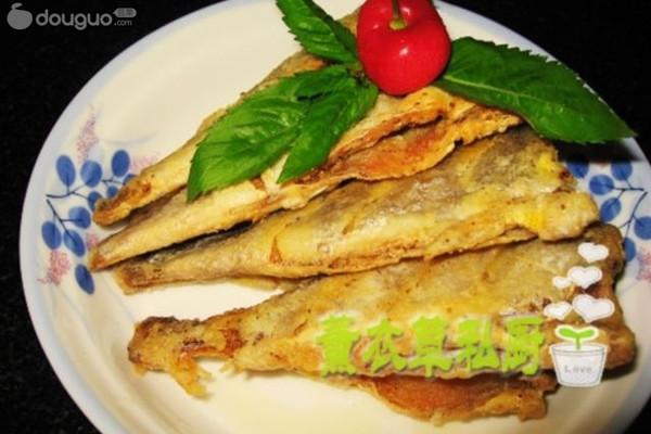 干炸小黄鱼--美丽厨娘的做法