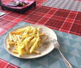 炸薯条 franch fries的做法