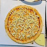 自創:榨菜、雞蛋雙拼烤披薩;的做法圖解3