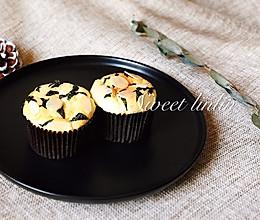咸蛋黄海苔肉松杯子蛋糕的做法