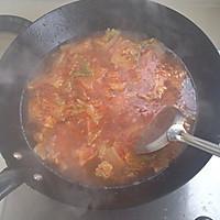 韩式泡菜火锅面的做法图解2