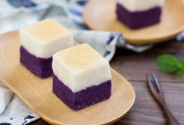 山药紫薯小方的做法