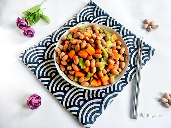 小咸菜【花生米小拌】的做法