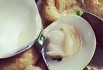 白贝油豆腐白菜煲的做法