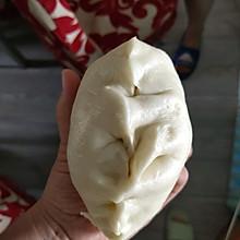 西葫芦虾皮鸡蛋发面大饺子