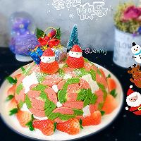 圣诞夏洛特蛋糕#安佳烘焙学院#