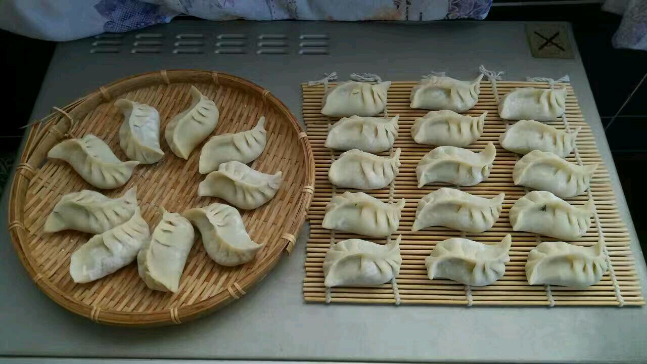 小动物造型饺子