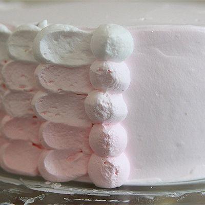 【番茄配方】粉红佳人生日蛋糕的做法 步骤8