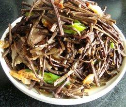 蕨菜干的做法
