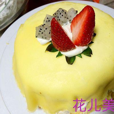 草莓千层可丽饼的做法 步骤13