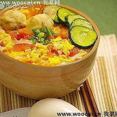 西红柿鸡蛋拌面【陕西口味】