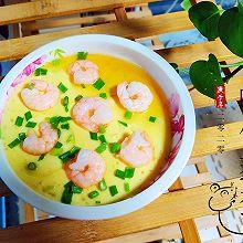 #餐桌上的春日限定#嫩滑的虾仁蒸蛋