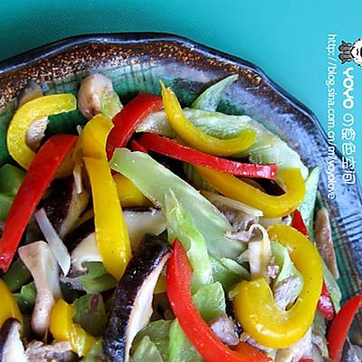 蔬菜炒香菇
