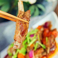 营养下酒菜--干煸孜然小羊排的做法图解20