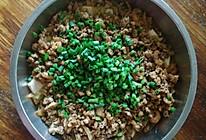 虾仁肉末蒸豆腐的做法