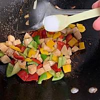 彩椒鸡丁#花10分钟,做一道菜!#的做法图解8