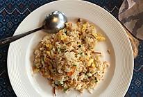 96菠萝海鲜咖喱炒饭的做法