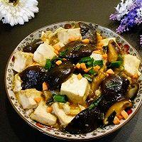 香菇烧豆腐#中粮我买,我是大美人#