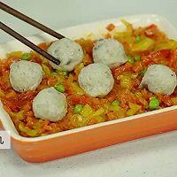 【微体】懒人料理 经典肉丸焗饭的做法图解11