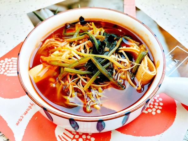 韩式杂蔬汤的做法