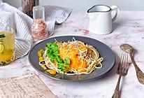 胡萝卜浓汤意面#做道好菜,自我宠爱!#的做法