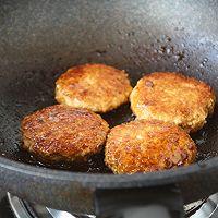 #童年不同样,美食有花样# 鸡肉豆腐堡的做法图解13