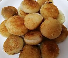 土豆糯米饼#好吃不上火#的做法