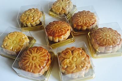 土豪版#五仁月饼